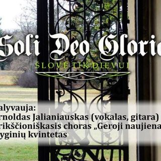 Koncertas Soli Deo Gloria
