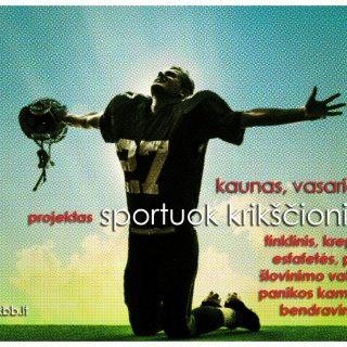 Sportuok krikščioniškai