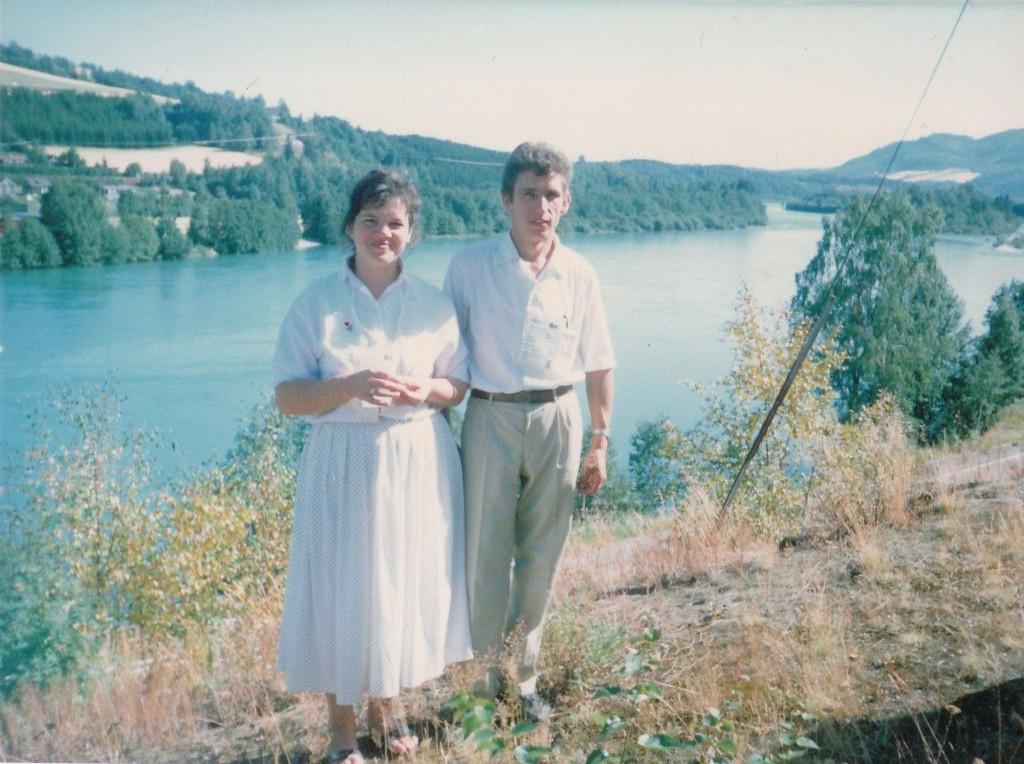 Владимир и Надежда Середа