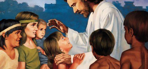 Jėzus laimina vaikus